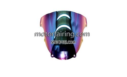 스크린/레이싱/이리듐/클리어/스모그/Kawasaki ZX-6R 03-04 Iridium Smoke 20
