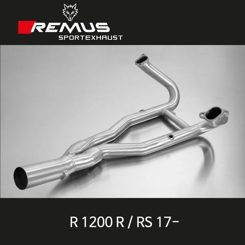레무스 BMW R1200R/RS 17- 스테인레스 중통(2-1) no cat. 스테인레스 RACE (no EC) 매니폴더 아크라포빅