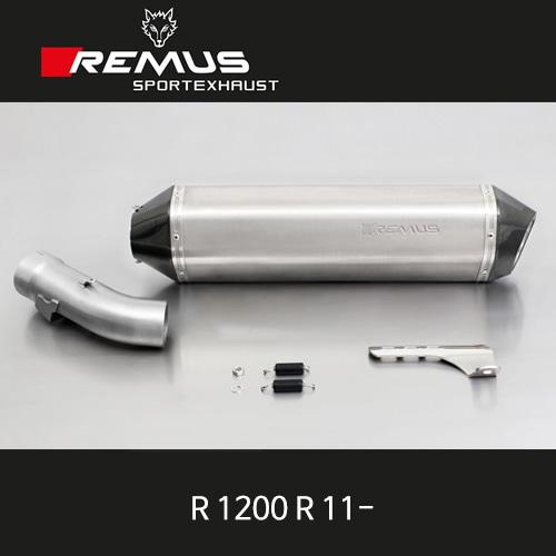 레무스 BMW(2011-)R1200R 티탄 슬립온 핵사곤 EEC 60mm 아크라포빅