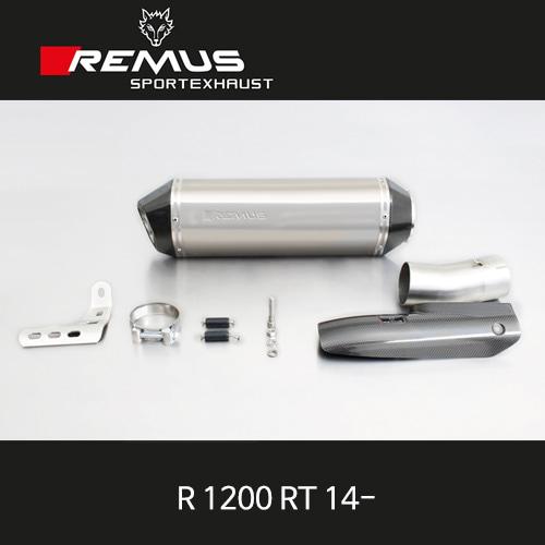 레무스 R1200RT BMW 14- 카본가드/티탄 핵사곤 슬립온 아크라포빅 EEC 65mm