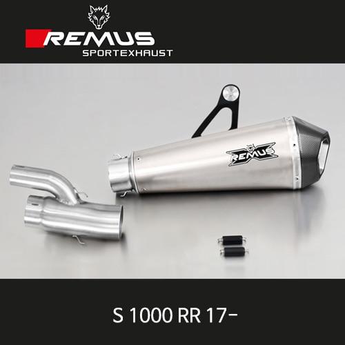 레무스 S1000RR 17- BMW 티탄 60mm 슬립온 하이퍼콘 아크라포빅
