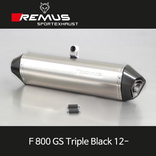 레무스 BMW (12-)F800GS트리플 Black 핵사곤 티탄 EEC 슬립온 아크라포빅