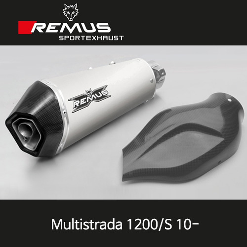 레무스 두카티 멀티스트라다1200/S 10- 카본가드/티탄 하이퍼콘 슬립온 아크라포빅 EEC