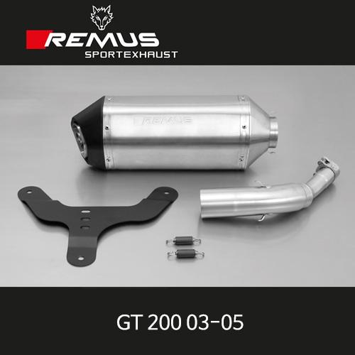레무스 베스파 GT200 03-05 스포츠 슬립온 no cat. 스테인레스 no EEC 55mm 아크라포빅