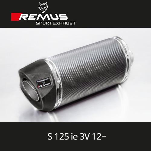 레무스 베스파 S125ie 3V(12-) 카본 55mm 풀시스템 스쿠터 RSC no heat shield 아크라포빅