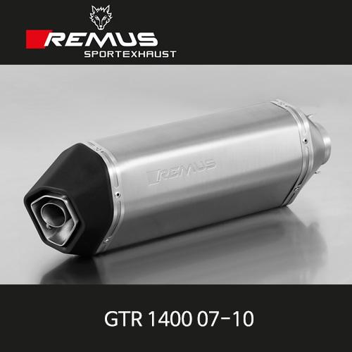 레무스 GTR1400 07-10 가와사키 오카미 슬립온 티탄 EEC 60mm 아크라포빅