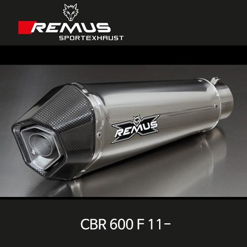 레무스 CBR600F 11- 혼다 하이퍼콘 스테인레스 EEC 60mm 슬립온 아크라포빅