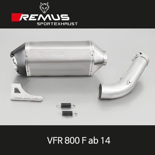 레무스 혼다 VFR800F 14년식 티탄 오카미 슬립온 EG/ABE 54mm 아크라포빅