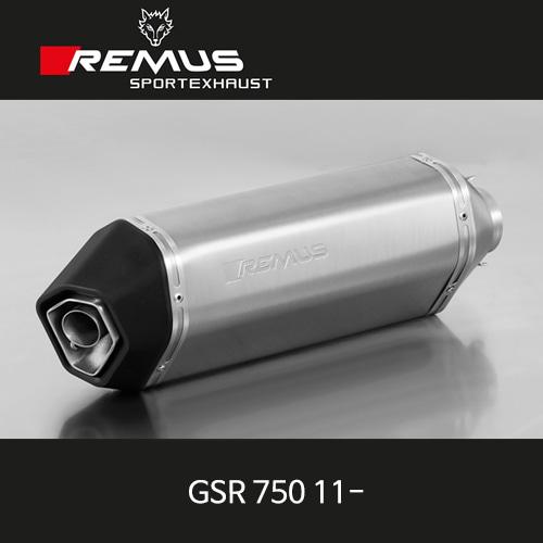 레무스 GSR750 11- 스즈키 오카미 슬립온 티탄 EEC 54mm 아크라포빅