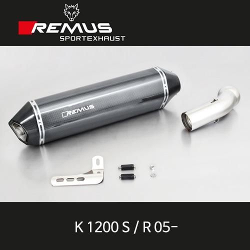 레무스 BMW K1200S/R(05-) 핵사곤 no cat. no EEC 카본 60mm 슬립온 아크라포빅