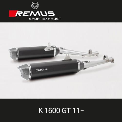 레무스 BMW K1600GT 11- 블랙호크 슬립온 좌/우 스틸블랙 EEC 54mm 아크라포빅