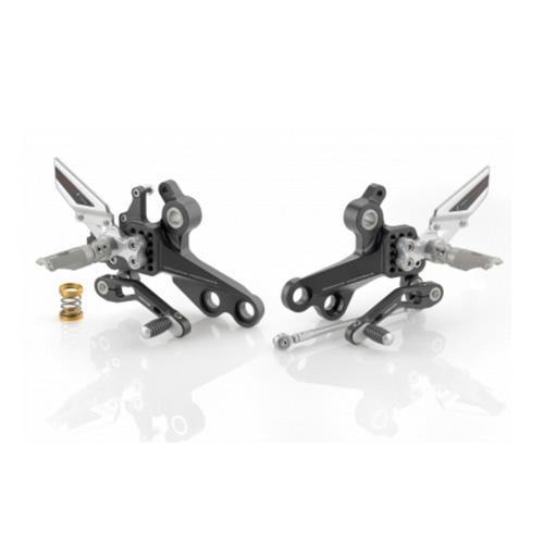 "리조마 DUCATI Monster 796 (2010 - 2013) Rear sets control Kit ""REV"""