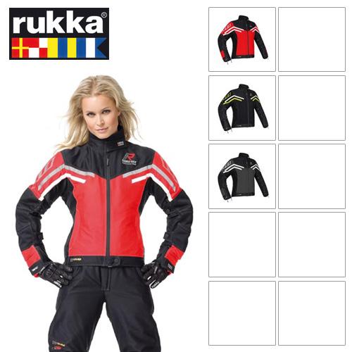 [루카 오토바이 자켓 용품]Rukka Air-Y Gore-Tex Lady Jacket (Black/Yellow) - 여성용