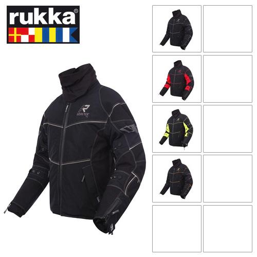 [루카 오토바이 자켓 용품]Rukka Armaxion Gore-Tex Jacket (Black/Orange)