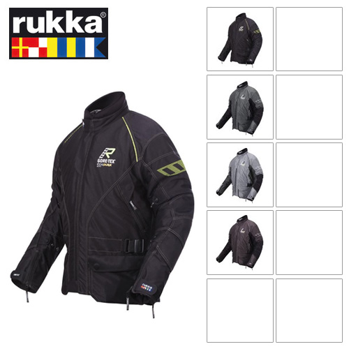 [루카 오토바이 자켓 용품]Rukka Airman Gore-Tex (Dark Grey/Black)
