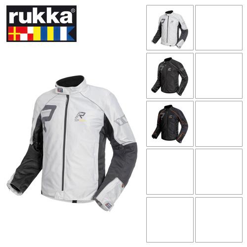 [루카 오토바이 자켓 용품]Rukka AirAll (Black/Orange)