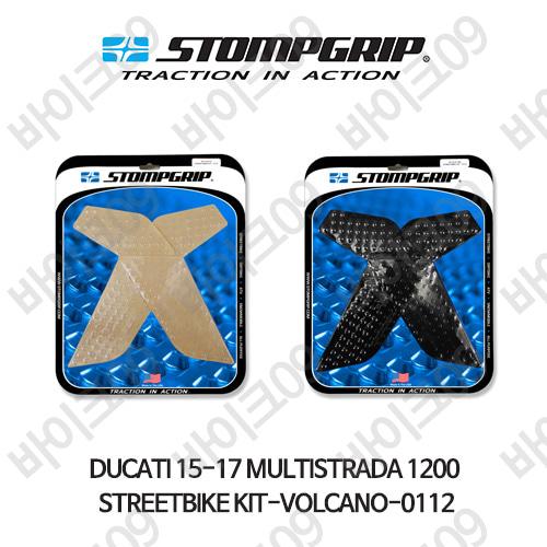 두카티 15-17 멀티스트라다 1200 STREETBIKE KIT-VOLCANO-0112 스텀프 테크스팩 오토바이 니그립 패드