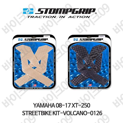 야마하 08-17 XT-250 STREETBIKE KIT-VOLCANO-0126 스텀프 테크스팩 오토바이 니그립 패드