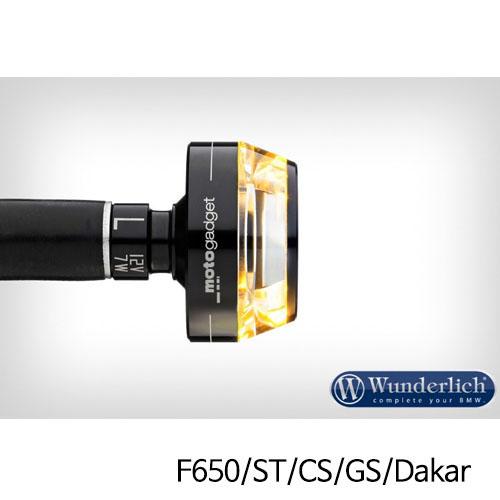 """분덜리히 F650/ST/CS/GS/Dakar Motogadget """"m-Blaze Disc"""" indicator - left - black"""
