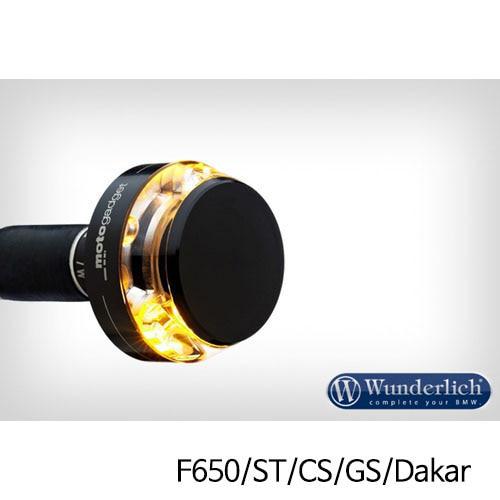 """분덜리히 F650/ST/CS/GS/Dakar Motogadget """"m-Blaze Disc"""" indicator - right - black"""