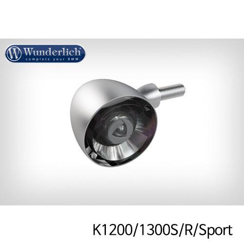 분덜리히 K1200/1300S/R/Sport Kellerman Bullet 1000 (piece) - front - matt chrome