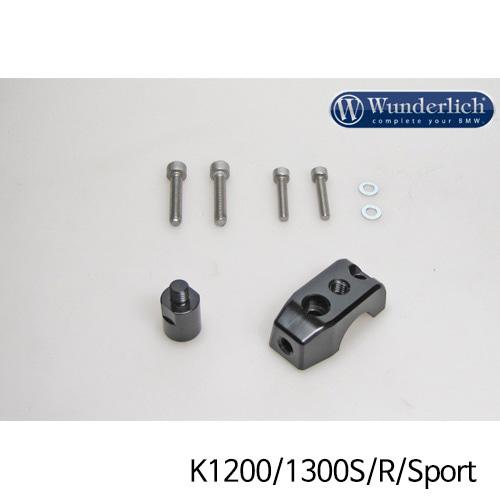 분덜리히 K1200/1300S/R/Sport Mirror clamp for additional mirror (Set) - black