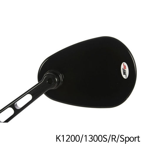 분덜리히 K1200/1300S/R/Sport Aspheric aluminium mirror body aspherical - black