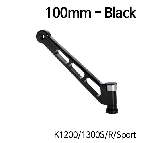 분덜리히 K1200/1300S/R/Sport MFW mirror stem - 100mm - black
