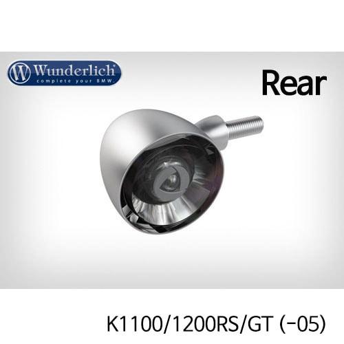 분덜리히 K1100/1200RS/GT (-05) Kellerman Bullet 1000 (piece) - rear - matt chrome