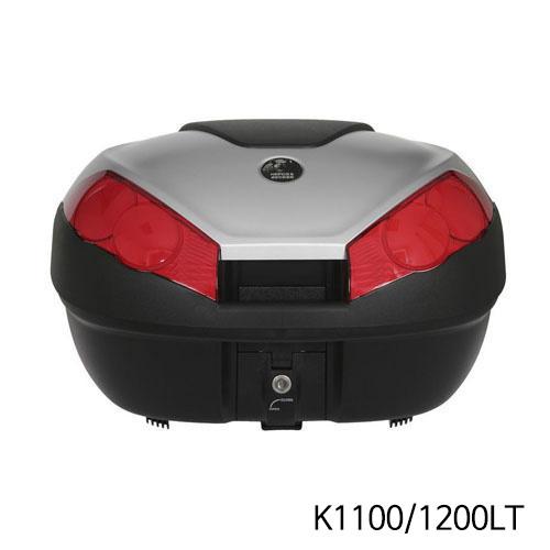 분덜리히 K1100/1200LT Hepco & Becker Journey Topcase 52 litres volume - black-silver