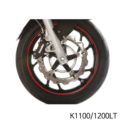 분덜리히 K1100/1200LT Wheel rim stickers - red