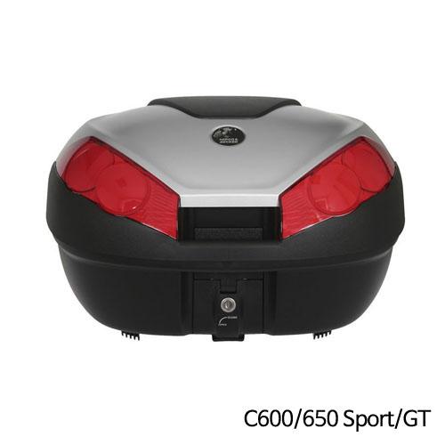 분덜리히 BMW C600/650 Sport/GT Krauser Journey 탑케이스 52 litres volume - 실버색상