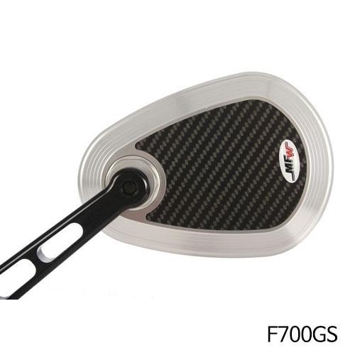분덜리히 F700GS MFW aspherical aluminium mirror body 카본/실버색상