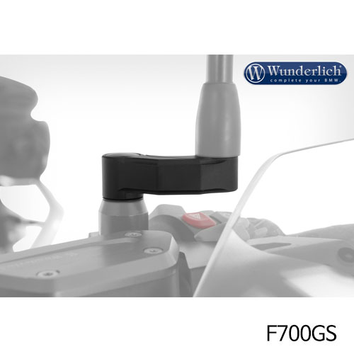 분덜리히 F700GS mirror extension 블랙색상
