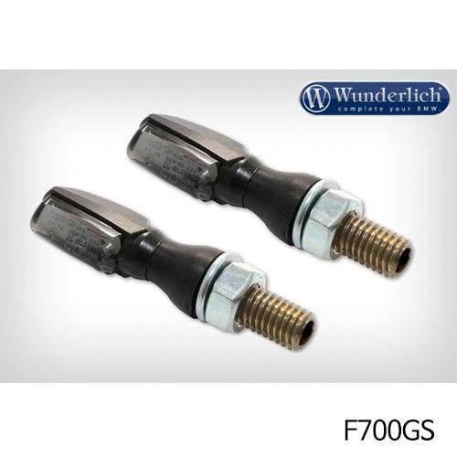 분덜리히 F700GS LED tail light indicator pair SPARK tinted 블랙색상