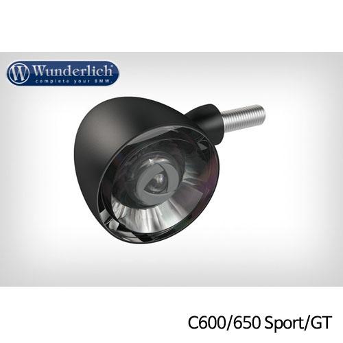 분덜리히 BMW C600/650 Sport/GT Kellerman Bullet 1000 (piece) - 프론트 블랙색상