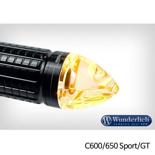 분덜리히 BMW C600/650 Sport/GT Motogadget m-Blaze cone indicator - 좌측 블랙색상