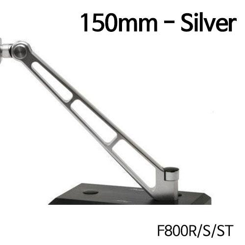 분덜리히 F800R MFW Naked Bike aluminium mirror stem - 150mm 실버색상