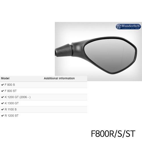 분덜리히 F800R/S/ST Mirror glass expansion SAFER-VIEW 우측 크롬색상 chromed