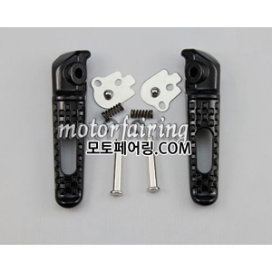 [텐덤스텝]For Honda 03-11 CBR600RR 04-11 CBR1000RR Footrest Foot Pegs Rear Aluminum PaintBlack 25