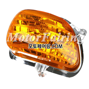 골드윙/튜닝파츠/Orange Front Turn Signal Lens Shell Cover For Honda Goldwing GL1800 2001-2013 30