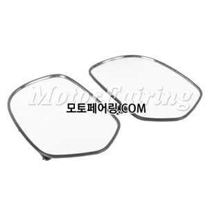 골드윙/튜닝파츠/One Pair Clean Rear View Side Mirrors Glass For Honda GOLDING GL1800 01-11 NEW 45