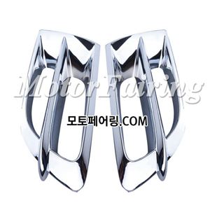골드윙/튜닝파츠/Left & Right Chrome Side Fender Covers For Honda GOLDWING GL1800 2001-2011 85