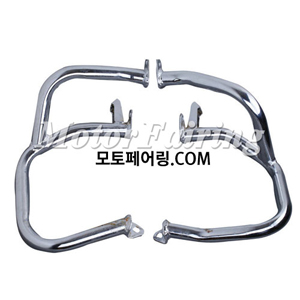 골드윙/튜닝파츠/Left & Right Chrome Engine Case Guards Bars For Honda GOLDWING GL1800 01-11 NEW 95