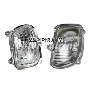 골드윙/튜닝파츠/Clear Front Turn Signal Lens Shell Cover For Honda Goldwing GL1800 2001-2013 NEW 30