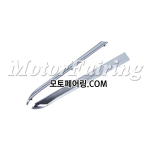 골드윙/튜닝파츠/Chrome Saddlebag Decoration Strips Moulding For Honda GOLDWING GL1800 01-11 45
