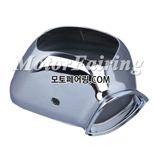 골드윙/튜닝파츠/Chrome Rear Mirrors Housing For Honda GL1800 GOLDWING 2001-2011 NEW 55