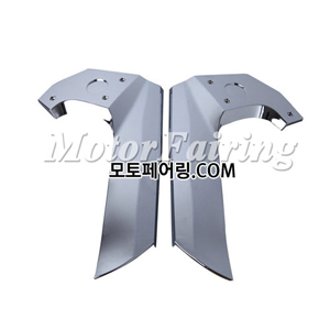 골드윙/튜닝파츠/Chrome Plated Frame Cover Trims For Honda GOLDWING GL1800 2001-2011 NEW 45