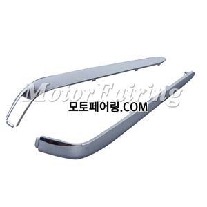 골드윙/튜닝파츠/Chrome Box Decoration Strips Moulding For Honda GOLDWING GL1800 2001-2011 45