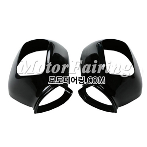 골드윙/튜닝파츠/Black Right Side Rear Mirrors Case Cover For Honda GOLDWING GL1800 2001-2011 25